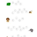 Aprendiendo a leer con animales